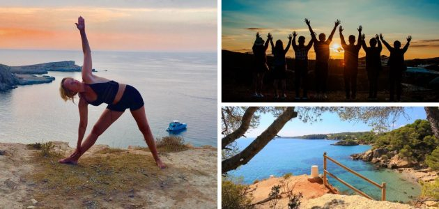 Cosmic Vinyasa Yoga retreat with EVA PEEL+ spiritual workshop