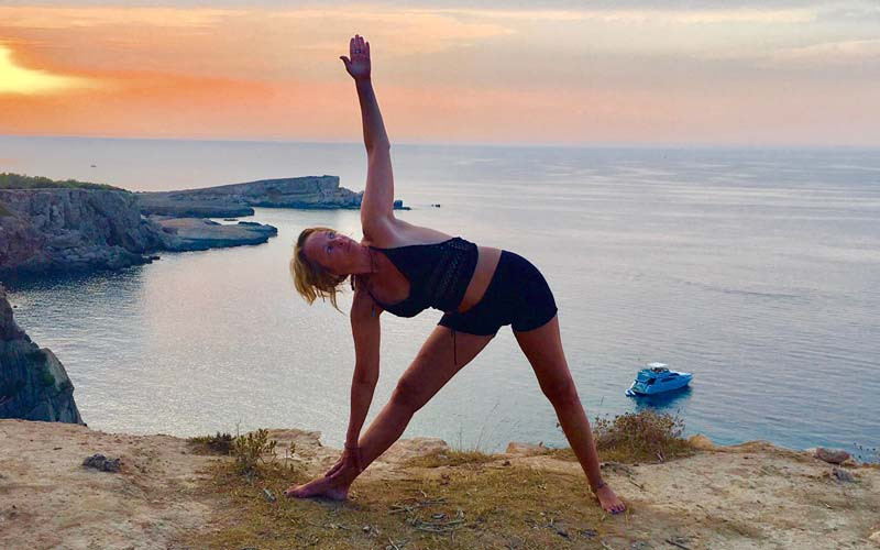 Yoga retreat with EVA PEEL